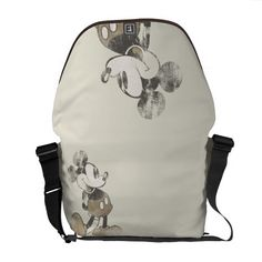 Customizable Rickshaw Messenger Bag made by Rickshaw Bagworks. Personalize it with photos & text or shop existing designs! Cute Purses, Purses And Bags, Disney Purse, Punk Disney, Vintage Mickey Mouse, Pack Your Bags, Baymax, Beautiful Bags, Swagg
