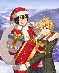 295 best holiday and christmas anime images on pinterest anime art anime boys and anime guys. Black Bedroom Furniture Sets. Home Design Ideas