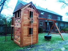 Custom Play Forts | custom playsets, play forts, swingsets, playgrounds and tree houses