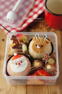 santa & reindeer bento ♥ Bento