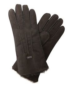 Take a look at this Black Beech Forest Gloves by EMU Australia on #zulily today! $70 !!