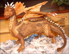 Draco Dragon in Gingerbread
