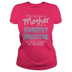 Awesome Tee For Country Director T Shirts, Hoodies. Get it now ==► https://www.sunfrog.com/LifeStyle/Awesome-Tee-For-Country-Director-102346572-Hot-Pink-Ladies.html?57074 $22.99