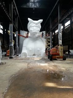 How Kara Walker Built A 75-Foot-Long Candy Sphinx In The Abandoned Domino Sugar Factory | The Creators Project