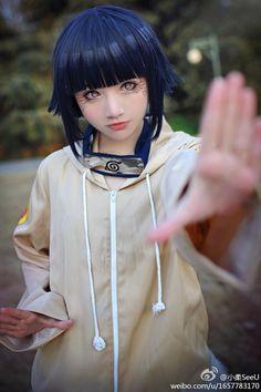 AMAZING cosplay ll Naruto ll Team 8: Hinata Hyuga by slivovayaSva