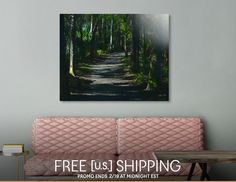 Discover «Enchanted Forest», Limited Edition Acrylic Glass Print by Glink - From $99 - Curioos