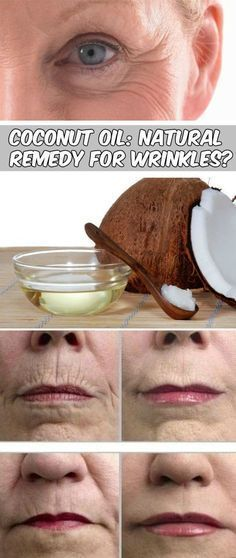 Coconut Oil for Wrinkles on Face, Under Eyes and Skin