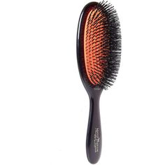 Mason Pearson Medium Size Pure Bristle Hair Brush (515 RON) ❤ liked on Polyvore featuring beauty products, haircare, hair styling tools, brushes & combs, makeup, accessories, beauty, hair, mason pearson hairbrush and hair brush comb