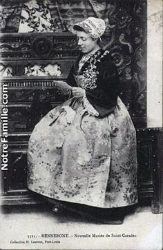 Mariée de St Caradec, Hennebont