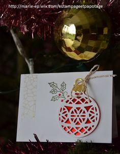 """Carte """"Boule de Noël"""""""