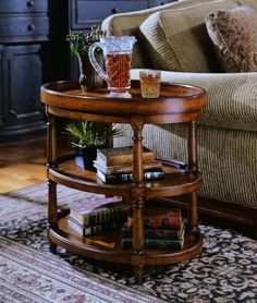 Oval Accent Table   Hooker Furniture   Home Gallery Stores . Hardwood Solids with Mappa Burl Veneers