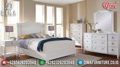 Absolute Solid Wood Kamar Set Minimalis Putih Duco Best Product Mebel Jepara BT-0791