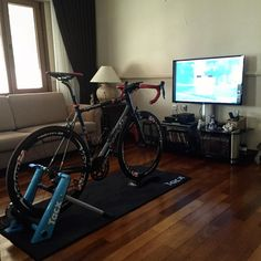 Winter training with #zwift #cycling by kaaneryurek #zwift #cycling #indoor #training