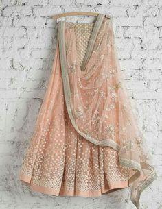 Lehenga Choli: Best Indian Lengha and Ghagra Choli Online Indian Wedding Outfits, Bridal Outfits, Indian Outfits, Indian Lehenga, Lehenga Choli, Sari, Pink Lehenga, Peach Lehnga, Sabyasachi Lehengas