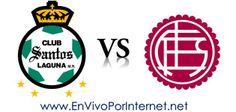 Santos Laguna vs Lanús En Vivo Octavos de Final Copa Libertadores 2014.  #CopaLibertadores