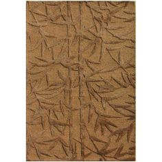 Bamboo Hand Tufted Wool and Art Silk Rug (5' x 8') | Overstock.com Shopping - Great Deals on JRCPL 5x8 - 6x9 Rugs