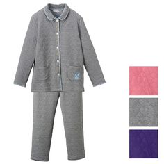 Heart Quilted Jacquard Pajama
