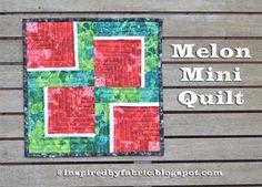Inspired by Fabric: Tute-Happy Summer: Melon Mini