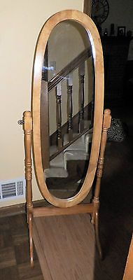 Oval Standing Mirror- want to find an antique one | Master Bedroom ...