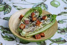 Grilled Caesar Salad with Light Caesar Salad Dressing Recipe, everyone in the family will love these!