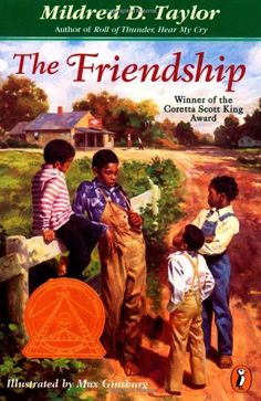 The Friendship by Mildred D. Taylor http://www.amazon.com/dp/0140389644/ref=cm_sw_r_pi_dp_g0Tpwb1DM074C