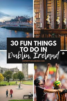 20 Great Things To Do In Dublin -- tips and ideas for your trip to Ireland! Ireland Vacation, Ireland Travel, Dublin Ireland, Cork Ireland, Dublin Bay, Dublin Travel, Europe Travel Tips, Asia Travel, Travel Destinations