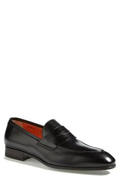 Santoni 'Will' Penny Loafer (Men) (Online Only) available at #Nordstrom