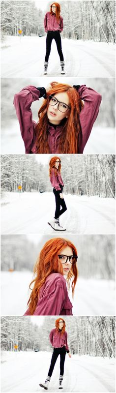 RED HEAD ROCKING THIS SHOOT:)