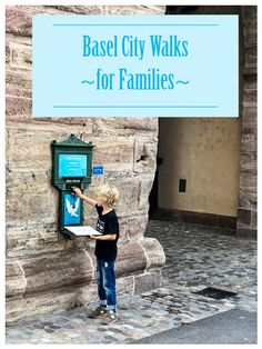 Family friendly walks around Basel Switzerland. Includes free printable city tours with kid friendly stories & activities. Also recommend tour books and attractions for kids. Kids Attractions, Basel, Getting Out, Walks, The Fosters, Switzerland, Free Printable, California, Tours