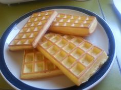 Tupperware waffles