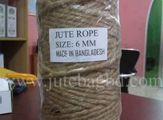 Exporter of Jute Rope from best jute shopping website jutebagbd.com  Jute is also known as 'golden fibre'.It is a long, soft, shiny vegetable fibre that can be spun into coarse, strong threads. It is produced from plants in the