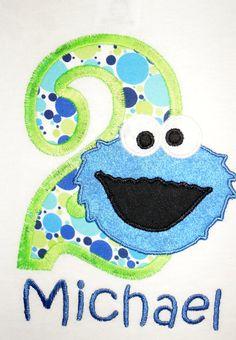 43 Best Cookie Monster or Sesame Street Birthday Party ...
