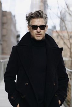 Long Hairstyles For Men Are Quite Sexy Older Mens Hairstyles, Haircuts For Men, Classic Mens Hairstyles, Eric Rutherford, Hair And Beard Styles, Long Hair Styles, Men Street, Grey Hair, Man Fashion