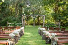 The outdoor wedding chapel where the magic begins!