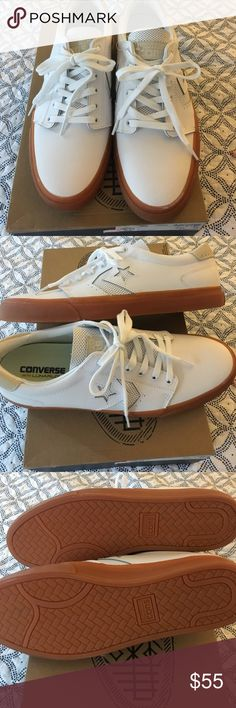 Converse Cons Sneakers with extra set white laces Men's size 11 converse white con sneakers bnib Converse Shoes Sneakers