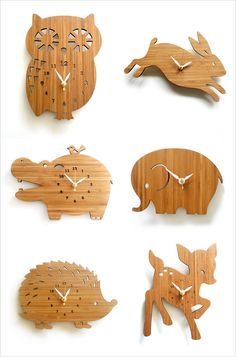 Bedroom wall clock baby baby