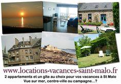 Un gîte, un appartement intra-muros ou un appartement avec vue sur mer ? Faites votre choix pour votre séjour à Saint-Malo :  http://www.locations-vacances-saint-malo.fr/