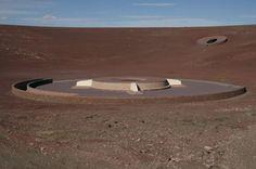 James Turrell's Roden Crater. Arizona. 1970-2002