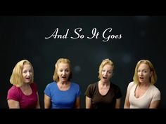 And So It Goes - a cappella Billy Joel cover by Julie Gaulke - YouTube