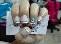 Manicure, Turquoise, Beauty, Work Nails, Short Nails, Nail Art, Nail Manicure, Fingernail Designs, Nail Bar