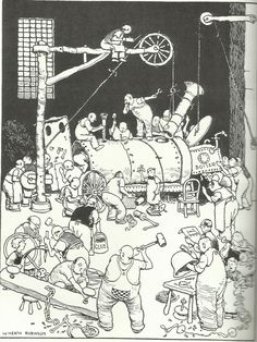 research & resource emma butterworth: W Heath Robinson