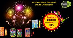 We have a wide range of Fire #Crackers for you to #celebrate this festive season.  Our high quality crackers would give you the value for money and also bring smiles to you and your family. #Festival #Diwali #diwalioffers