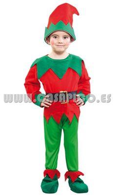 gracioso disfraz de elfo casapico disfracescasapico - Egyptian Halloween Costumes For Kids