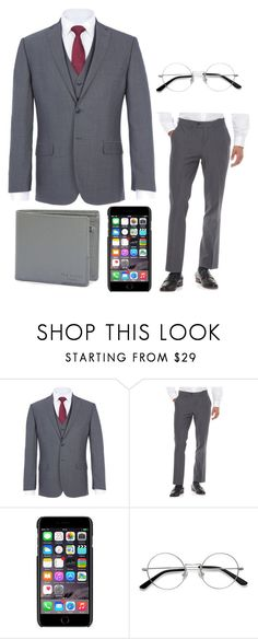 """""""Sexy with your glasses"""" by phatjuli ❤ liked on Polyvore featuring Daniel Hechter, Apt. 9, Dolce&Gabbana, EyeBuyDirect.com, Ted Baker, men's fashion and menswear"""