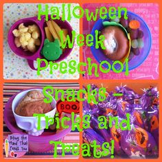 Biting The Hand That Feeds You: Dye-Free Preschool Snacks - Halloween Tricks and Treats, 2012