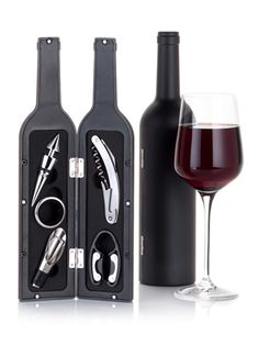 @Carolyn Booker Magazine rounds up 20 Hostess Gifts Under $20, including our Sommelier Wine Bottle Set, perfect for vino connoisseurs.