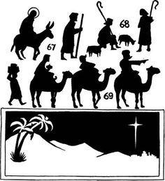 A Nativity  Shadow Play 1