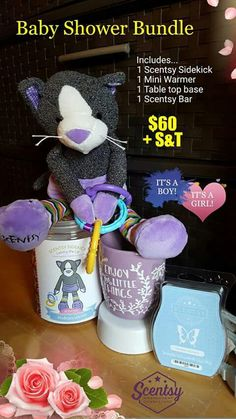 Need a baby shower gift? www.lozworldscents.scentsy.us