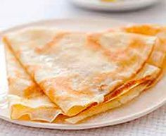 These thin French pancakes have a reputation for being temperamental divas demanding pampered batter, a specialized pan, and supremely delicate handling. Crepe Recipes, Lemon Recipes, Sweet Recipes, Eggless Pancake Recipe, French Pancakes, Protein Bread, Breakfast Specials, Snacks Saludables, Frozen Cherries