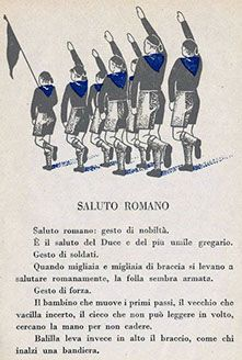 Voci e immagini dell' Italia del Fascismo